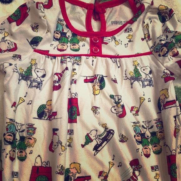 Peanuts Pajamas Charlie Brown Christmas Girls 2t Poshmark